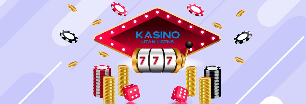 Kasino utan licens logga